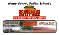 October 19th – 23rd is National School Bus Safety Week