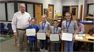 Campbellsburg Future Problem Solving Team Wins District Title
