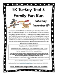 5K Turkey Trot and Family Fun Run at Eastern Elementary