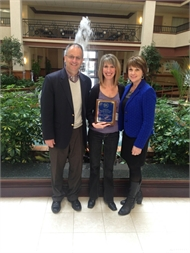 Melissa Jeffries named 2014 Kentucky School Nurse of the Year