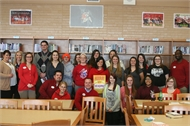 HCHS Receives $500 Grant from Target for Library Media Center