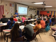 UK Agriculture Students visit HCHS